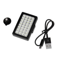Wholesale High Quality Mobile Videos - 2016 Hot Video Light 32 LED Intergrated Fill Light For Mobile Phone Digital Camera High Quality Promotion