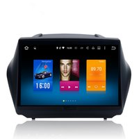 Wholesale Car Stereo System Gps Hyundai - For Hyundai Tucson IX35 Android 6.0 Octa Core Autoradio Car Radio Stereo GPS Navigation Multimedia Media System Sat Nav NO DVD
