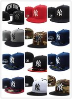 Wholesale Sun Hat For Sports - 2017 new New York Fitted Hats for men women sports hip hop mens bones sun hats