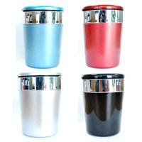 Wholesale Auto Interior Supplies - metal car ashtray LED automotive interior supplies Auto Accessories trash can
