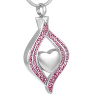 Wholesale Design Crystal Drop Necklace - IJD8111 Women's Accessories Wholesale or Retail,Unique Design Stainless Steel Crystal Water Drop Cremation Urn Necklace Memorial Ash Jewelry