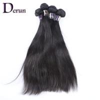 teje la extensión al por mayor-¡Envío gratis! Mezcla 4 paquetes de la trama brasileña del pelo humano de la Virgen 12