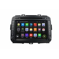 Wholesale Dvd Kia Carens - Fit for kia Carens 2013 2014 Android 5.1.1 system 1024*600 hd screen car dvd player gps navigation radio 3G wifi bluetooth dvr obd2