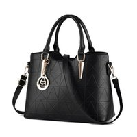 Wholesale Burgundy Sheets - High Quality PU Leather Female Bag Metal Sheets Decoration Handbags Sweet Ladies Elegant Luxury Women Shoulder Bags Bolsa Feminia HL014