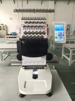 Wholesale Machine For T Shirt - Mini DIY Single head 12 needles commercial computerized embroidery machine for caps, towel, finished garments, T shirt Used