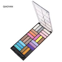 Wholesale Manufacturer Cosmetics - Manufacturers selling fashion must-have latest 2017 eye shadow palette dumb light sootiness makeup cosmetics 24 colors eye shadow