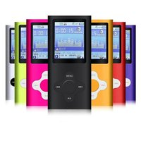"Wholesale Mp4 Digital Player 8gb - 2017 Fahsion 8GB 16GB 32GB Slim Digital MP3 MP4 Player 1.8"" LCD Screen Music FM Radio Video Games Movie With Earphones Support Wholesales"