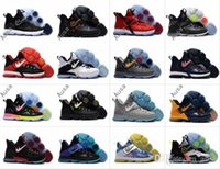 Wholesale Elite Football Boots - 2017 Official Edition LB 14 James XIV 14s Mens Basketball Shoes For Men SBR Christmas BHM Black Red Blue Elite Athletic Sports Sneakers