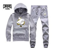 Wholesale Color Diamond Loose - Crooks and Castles sweatshirt diamond fashion hip hop hoodie mens clothes sportswear hiphop pullover sweats brand crooks stylish