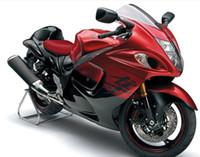 Wholesale Black Hayabusa Fairing Kit - New Injection ABS bike Fairing Kits 100% Fit For Suzuki GSXR1300 Hayabusa 08 09 10 11 12 13 14 15 GSX-R1300 2008-2015 good nice red black