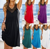 Wholesale Rhinestone Covered Mini Dress - Beach Swimsuit Cover Up Bathing Suit Swim Ups Summer Dress Coverup V-Neck Hot Drilling Wrinkle Long Kaftan Beach Towel #Y