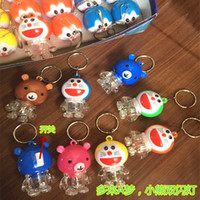 Wholesale teddy bear face for sale - Group buy For more than A dream Teddy bear cartoon bags hang key pendant supplies