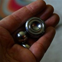 Wholesale Good Magnets - Orbiter Hand Spinner with Magnet Fidget Toy Good Choice For decompression anxiety Finger Toys EDC Toy with Cotton Bag Packaging DHL free