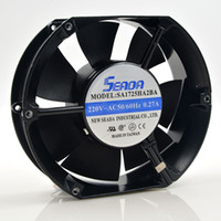 Wholesale Fan Flow - Taiwan SEADA 0.27A SA1725ha2ba 17251 17CM ball axial flow fan cabinet fan