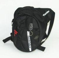 Wholesale Drop Leg Fanny - Hot Waterproof Travel Men's Black Drop Legs Motorcycle Fanny Bag Belt Bag