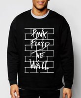Wholesale Slim Style Cotton Hoodies - Wholesale-Pink Floyd 2016 new autumn winter fashion sweatshirt men hoodies hip hop cool style streetwear slim cotton brand clothing