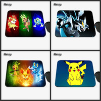 Wholesale Cooler Pads For Laptops - New Pokemon Mouse Is the Coolest Custom Design Game Design, with High Quality Anti-slide Laptop Computer Mouse Pads for Gifts