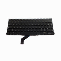 Wholesale Laptops French Keyboard - AZERT A1425 FR Laptop Keyboard For Macbook Pro Retina A1425 French Keyboard Replacement Keyboard Brand New