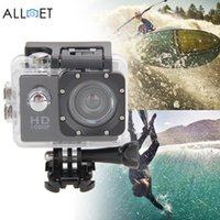 Wholesale Good Quality Car Camera - Wholesale- Good Quality 12MP Ultra HD 1080P Waterproof Action Camcorder Sports DV Camera Car Cam