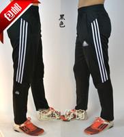 Wholesale Cycling Long Pants Men - High quality breathable football training sports long - leg cycling pants