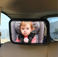 Wholesale Car Universal Rear View Mirror Baby Chair Mirrors Car Safety Backseat Rear View Observe Mirror