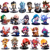 Wholesale Action Figure Kit - Cute League of Legends Action Figure Toys Kawaii Collect Game Anime Model Garage Kit with box gifts