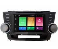 """Wholesale Stereo Toyota Highlander - 8"""" Android 6.0 System Car DVD Double Din For Toyota Highlander 2007-2011 GPS Multimedia Player Octa Core 2G RAM 32G ROM Head Unit Stereo"""