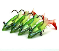 Wholesale lure lip resale online - Fishing Accessories Tilt Lip Weever Baits Lead Fish Fishing Lure CM G Green Plastic Floating Baits