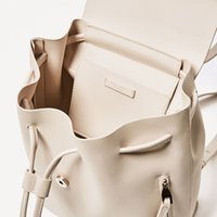 Wholesale Backpacks Offers - Special Offer Backpack Style Clock Violin New Fashion Popular Detail Decoration Backpack Shoulder Bags Side Zipper Pocket White Women