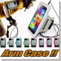 отметить браслет оптовых-Чехол для руки Чехлы для нарукавной повязки для iPhone 6 / 6s Тренировка Спортивная повязка для бега Тренажерный зал Чехол для Samsung Note 7 S7 S7 Edge S6 Edge край iPhone 7 plus