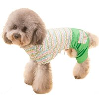 Wholesale Dogs Jumpsuit Fleece - Pets Dog Winter Autumn Coat Fleece Snowflake Printed Dog Puppy Clothes Hooded Jumpsuit Apparel Jacket Costume Overalls XS-XL