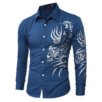Wholesale Mens Designer Shirts Wholesale - Wholesale- 2016 The New listing Mens Famous Designer Solid Stripe Comfortable Trendy Stylish Male Dress Shirt camisa masculina