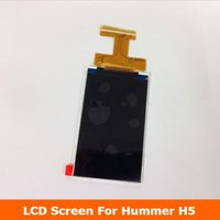 Wholesale H5 Inch - Wholesale- Original Spare Part 4.0 inch LCD Screen For HUMMER H5 Smartphone