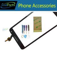 Wholesale alcatel parts - Wholesales High Quality Black Color For Alcatel OT5025 5025D 5025 Touch Screen Digitizer Replacement Part