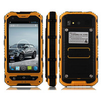 Wholesale Unlocked Android Smartphone 1gb - 4.0' A8 IP68 Rugged Android Waterproof Smartphone unlocked cell phone A8 MTK6582 Quad Core 1GB RAM 8GB Senior shockproof smartphone 3G GPS