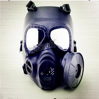 Wholesale Factory direct sale M04 gas mask cs field tactical mask lens anti fog exhaust equipment