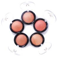 Wholesale Naked Blusher - Wholesale-5 colors Base Makeup Face Blush Maquiagem Baked Cheek Color Bronzer Mineralize Blusher Powder Pallete Naked Blushes