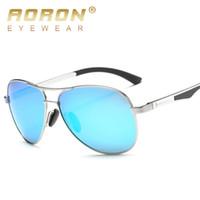 солнцезащитные очки для мужчин оптовых-солнцезащитные очки тенденции мужчины ретро круглое лицо Китай тест полиция мужчины луч Оптовая боковые щиты UV400 мужские поляризованные солнцезащитные очки женщины летние очки