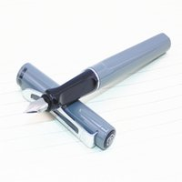 Fountain Pens Metal 0.4mm Wholesale-Hero 1515 Gray colour Business office fine nib Fountain Pen New calligraphy pen