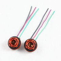 Wholesale Halogen Bulb Wire Connector Socket - 1157 2057 BAY15D 1034 Adapter Wiring Harness Plug Connector Socket Wire Extension Pigtail For LED   Halogen
