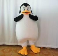 fantasias de pinguins venda por atacado-SX0720 com um mini ventilador dentro do traje de mascote de pinguim de cabeça para adulto usar para venda