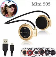 Mini 503 Wireless Bluetooth Headset Kopfhörer Sport Musik Freisprecheinrichtung Kopfhörer Kopfhörer für Iphone 6 6s 5s Ipad Samsung S6 S5