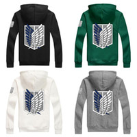 Wholesale S Advanced - Advancing Titans clothing Fleece Hoodie Jacket zipper COSPLAY animation