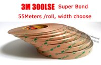 Wholesale Hair Bond Tape - Wholesale- 2016 Original 3M High Bond 300LSE 9495LE Clear Double Adhesive Tape, Waterproof, for LCD Screen, Wig, Hair Extension, 1mm~15mm