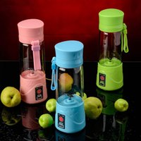 Portátil USB Electric Fruta Citrus Juicer Botella Handheld Milkshake Smoothie Maker Huevo recargable Licuadora Juicer botella OOA1991