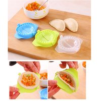 Atacado 3PCS DIY Ravioli Wonton Mold Machine Massa Press Pie Dispositivo Kitchen Cooking Pastry Tooling Dumplings Sobremesa Maker Mold Tools