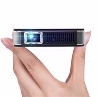 Wholesale Outdoor Education - Wholesale-U9 4000Lux Portable Mini LED Projector Wifi Smart DLP Pico Projector HDMI USB VGA Wireless Control for Business Travel Outdoor