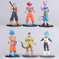 juguetes de animación modelo al por mayor-6pcs / set Generación modelo de animación Dragonball muñeca Figura de acción artículos de decoración 14cm Dragonball Figura de acción juguetes de la muñeca