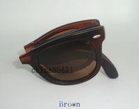 Wholesale Sports Sunglasses Folding - New Designer Fashion Mens Womens Folding Sunglasses UV Protection Sport Sun glasses Retro Eyewear With Original box