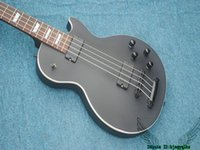 Wholesale Electric Guitars Matt Black - 4 Strings Electric Bass Matt Black Custom Bass Guitars New Arrival Wholesale HOT